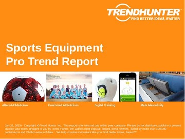 Sports Equipment Trend Report and Sports Equipment Market Research