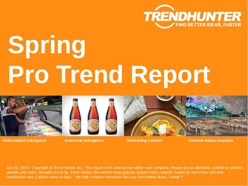 Spring Trend Report and Spring Market Research