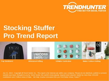 Stocking Stuffer Trend Report and Stocking Stuffer Market Research
