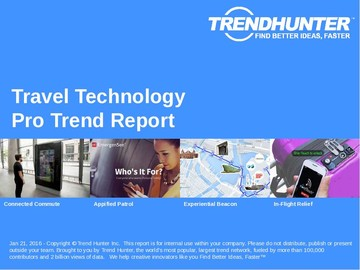 Travel Technology Trend Report and Travel Technology Market Research