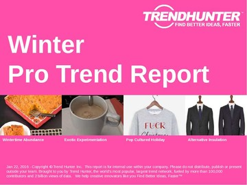 Winter Trend Report and Winter Market Research