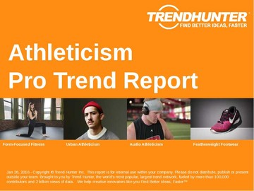 Athleticism Trend Report and Athleticism Market Research