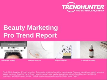 Beauty Marketing Trend Report and Beauty Marketing Market Research