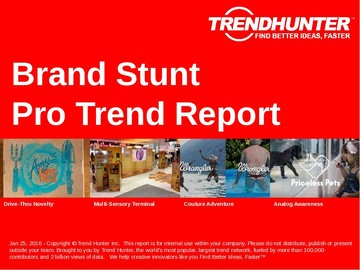Brand Stunt Trend Report and Brand Stunt Market Research