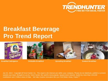 Breakfast Beverage Trend Report and Breakfast Beverage Market Research