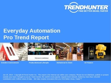 Everyday Automation Trend Report and Everyday Automation Market Research