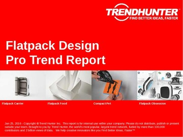 Flatpack Design Trend Report and Flatpack Design Market Research