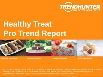 Healthy Treat Trend Report and Healthy Treat Market Research