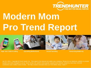 Modern Mom Trend Report and Modern Mom Market Research