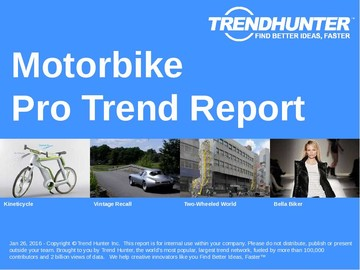 Motorbike Trend Report and Motorbike Market Research