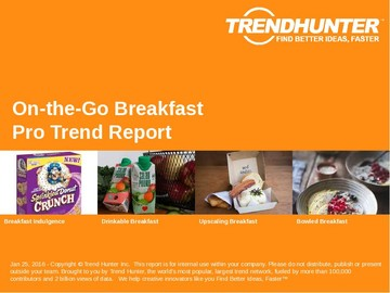On-the-Go Breakfast Trend Report and On-the-Go Breakfast Market Research