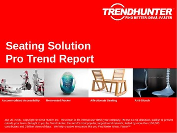 Seating Solution Trend Report and Seating Solution Market Research