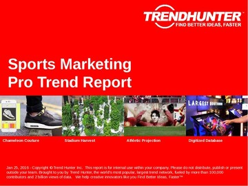 Sports Marketing Trend Report and Sports Marketing Market Research