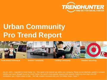 Urban Community Trend Report and Urban Community Market Research