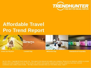 Affordable Travel Trend Report and Affordable Travel Market Research