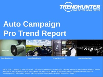 Auto Campaign Trend Report and Auto Campaign Market Research