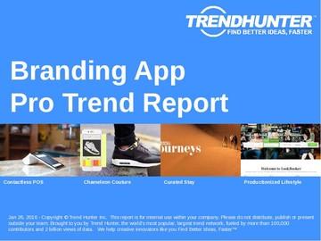 Branding App Trend Report and Branding App Market Research