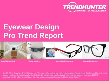 Eyewear Design Trend Report and Eyewear Design Market Research