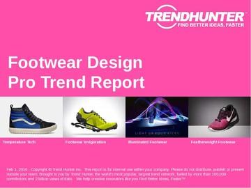 Footwear Design Trend Report and Footwear Design Market Research