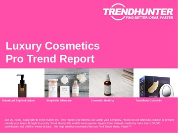Luxury Cosmetics Trend Report and Luxury Cosmetics Market Research