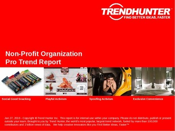 Non-Profit Organization Trend Report and Non-Profit Organization Market Research