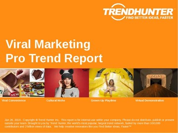 Viral Marketing Trend Report and Viral Marketing Market Research