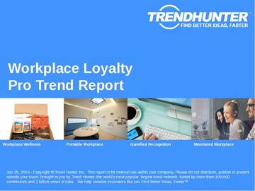 Workplace Loyalty Trend Report and Workplace Loyalty Market Research