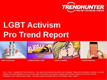 LGBT Activism Trend Report and LGBT Activism Market Research