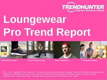 Loungewear Trend Report and Loungewear Market Research