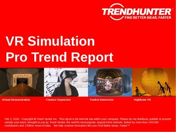 VR Simulation Trend Report and VR Simulation Market Research