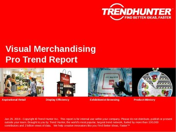 Visual Merchandising Trend Report and Visual Merchandising Market Research