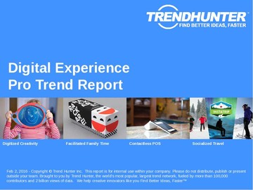 Digital Experience Trend Report and Digital Experience Market Research