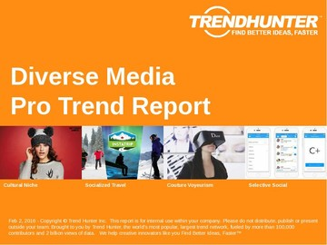 Diverse Media Trend Report and Diverse Media Market Research