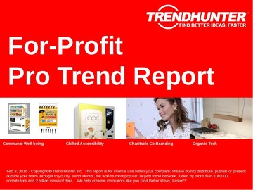 For-Profit Trend Report and For-Profit Market Research