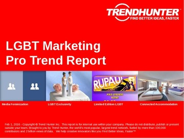 LGBT Marketing Trend Report and LGBT Marketing Market Research