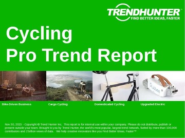 Cycling Trend Report and Cycling Market Research