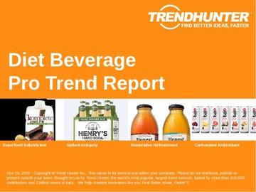 Diet Beverage Trend Report and Diet Beverage Market Research