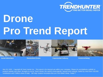 Drone Trend Report and Drone Market Research