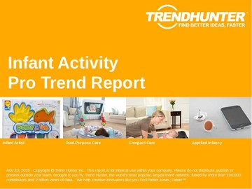 Infant Activity Trend Report and Infant Activity Market Research