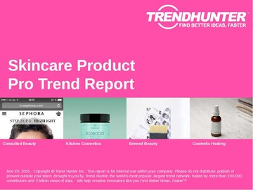 Skincare Product Trend Report and Skincare Product Market Research