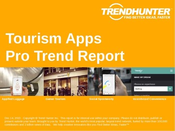 Tourism Apps Trend Report and Tourism Apps Market Research