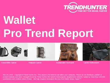 Wallet Trend Report and Wallet Market Research