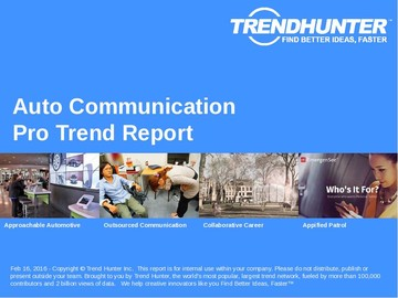 Auto Communication Trend Report and Auto Communication Market Research