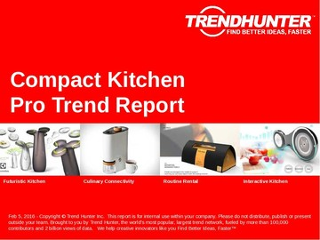 Compact Kitchen Trend Report and Compact Kitchen Market Research