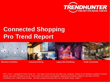Connected Shopping Trend Report and Connected Shopping Market Research