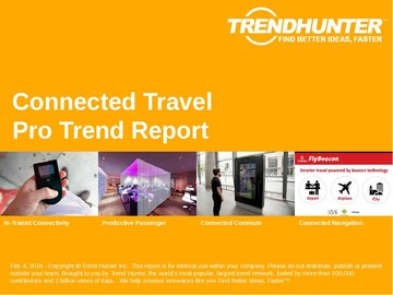 Connected Travel Trend Report and Connected Travel Market Research