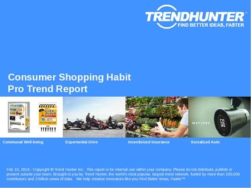 Consumer Shopping Habit Trend Report and Consumer Shopping Habit Market Research