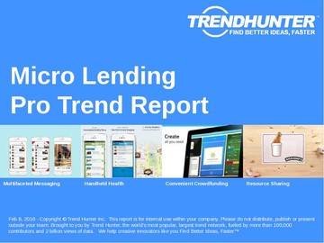 Micro Lending Trend Report and Micro Lending Market Research