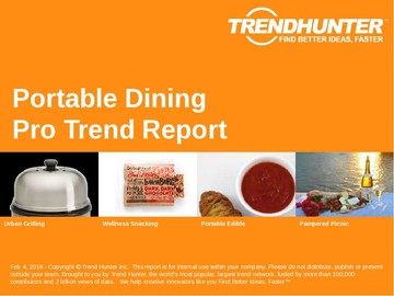 Portable Dining Trend Report and Portable Dining Market Research
