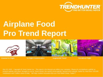 Airplane Food Trend Report and Airplane Food Market Research